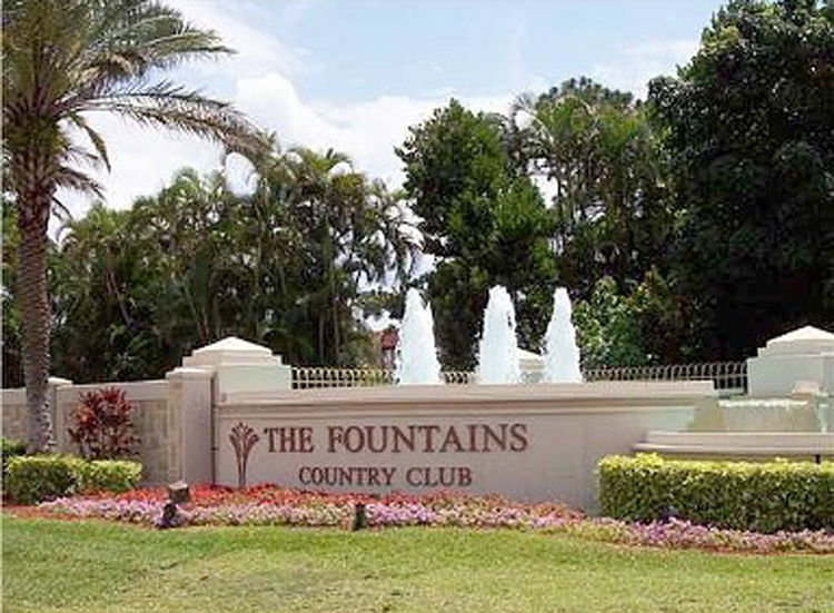 Fountains Homes For Sale In Lake Worth Florida